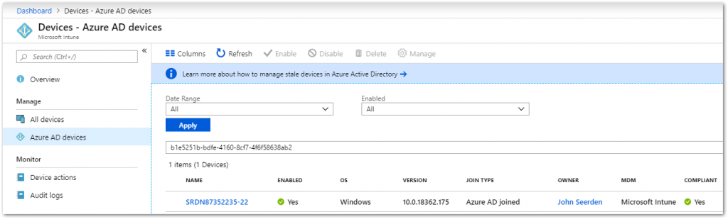 Deep dive into sign-in activities for Azure AD and Intune